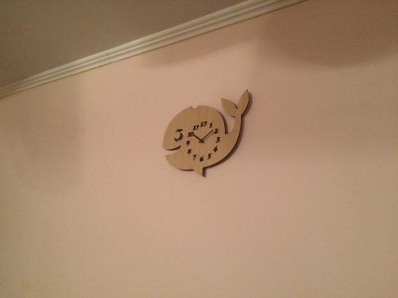 настенные часы кит