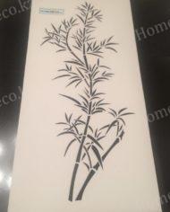 трафарет бамбуковый куст