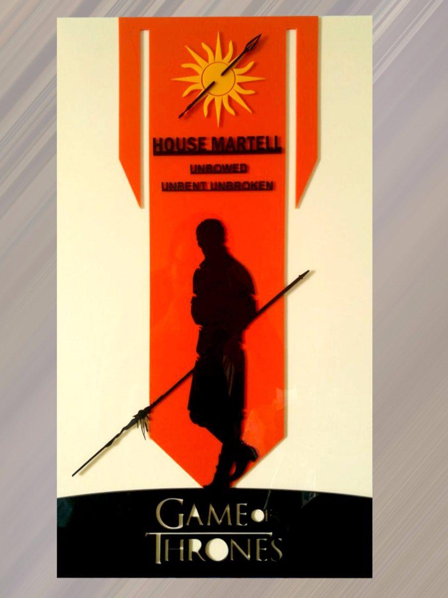 постер из акрила game of thrones house martell