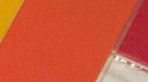 оранжевый акрил