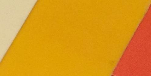 жёлтый акрил