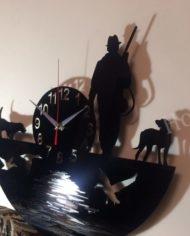 настенные часы На охоте