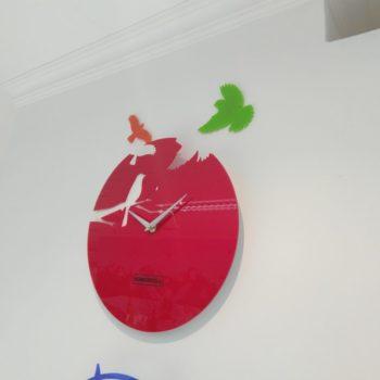Настенные часы Птицы